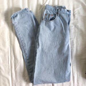 SOLD Vintage light wash denim Brody Jeans